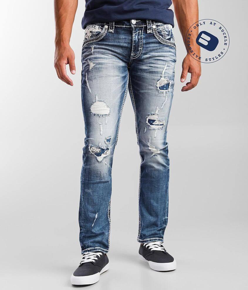 Rock Revival Bradley Slim Straight Stretch Jean front view