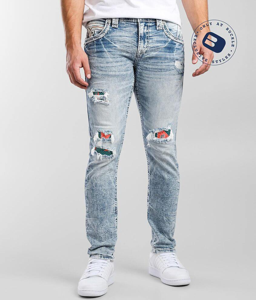 Rock Revival Gary Slim Taper Stretch Jean front view