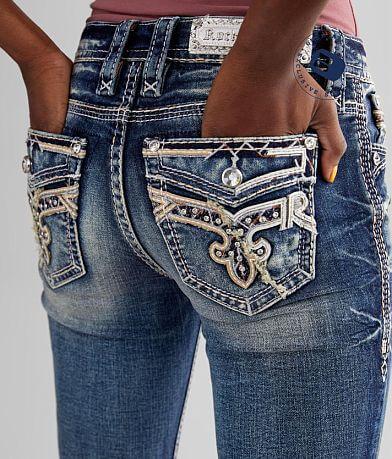 Rock Revival Mid-Rise Skinny Stretch Jean