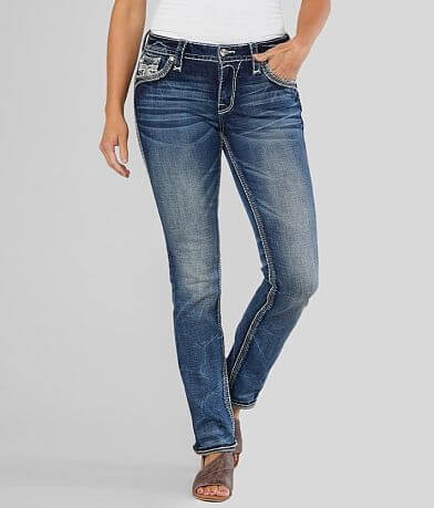Rock Revival Dea Easy Straight Stretch Cuffed Jean