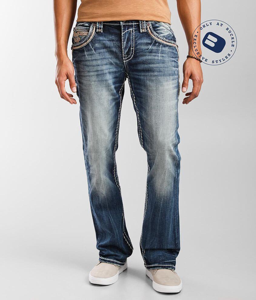 Rock Revival Hanvid Slim Boot Stretch Jean front view