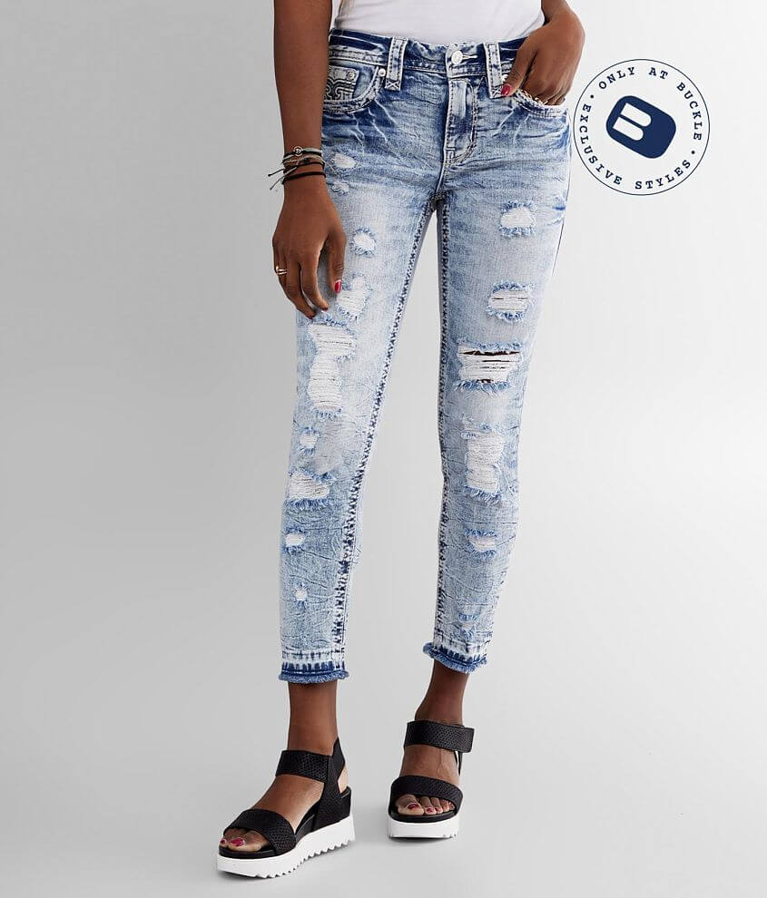 Rock Revival Stellar Mid-Rise Ankle Skinny Jean front view