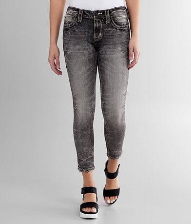 Rock Revival Sepia Mid-Rise Ankle Skinny Jean
