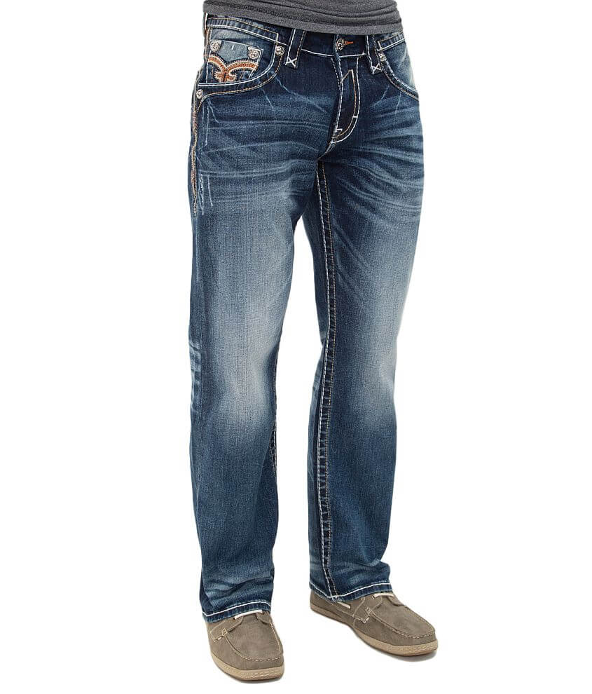Rock Revival Remy Relaxed Straight Jean front view