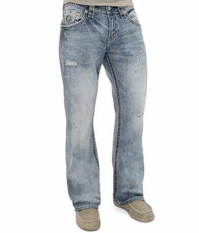 Rock Revival Penn Relaxed Straight Stretch Jean