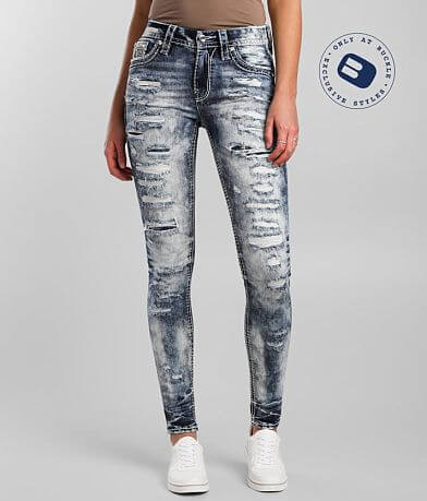Rock Revival Katydid Mid-Rise Skinny Stretch Jean