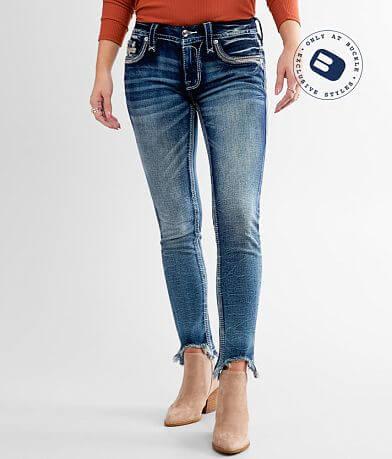 Rock Revival Jade Lime Ankle Skinny Stretch Jean