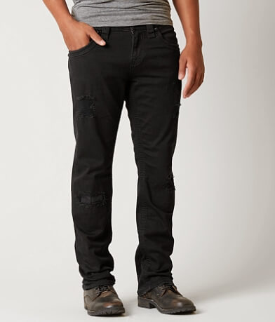 Rock Revival Tobin Relaxed Straight Stretch Jean