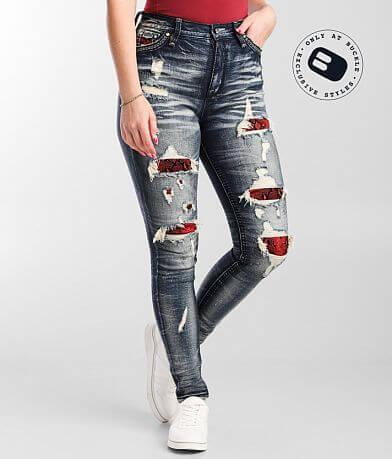 Rock Revival Carmine Ultra High Rise Skinny Jean