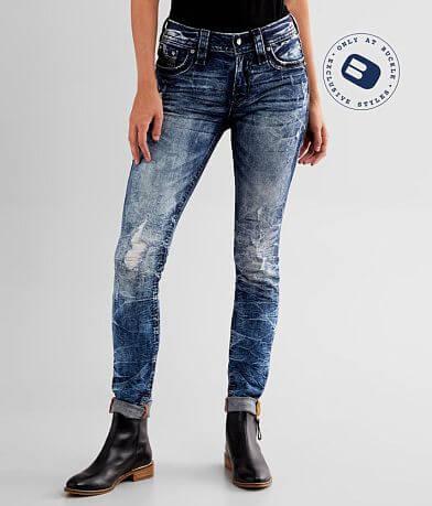 Rock Revival Carmine Mid-Rise Skinny Stretch Jean