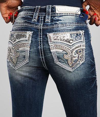 Rock Revival Amberlight Mid-Rise Ankle Skinny Jean