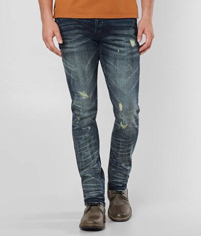 Rock Revival Remix Slim Straight Stretch Jean