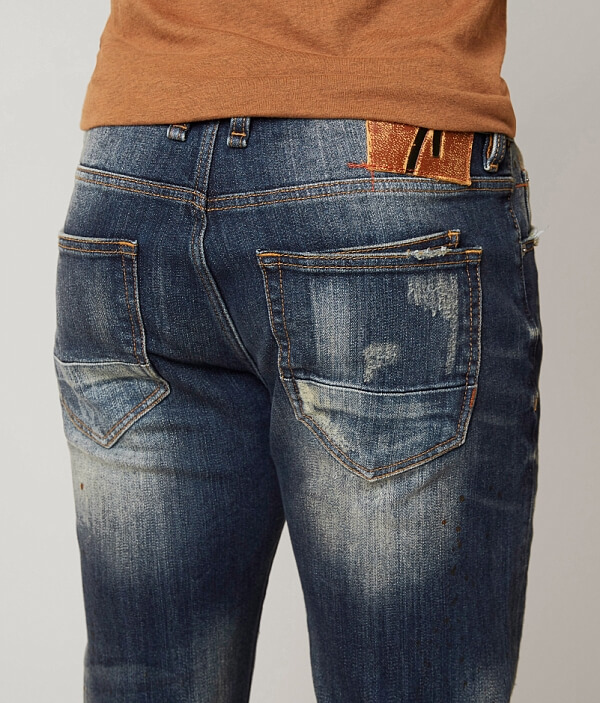 Jean Rock Straight Slim by Remix Revival 5I4YqXvw