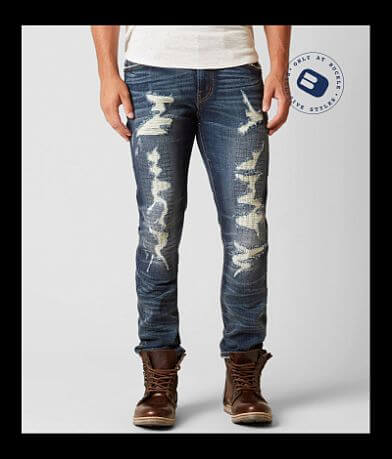 Rock Revival Remix Straight Stretch Jean