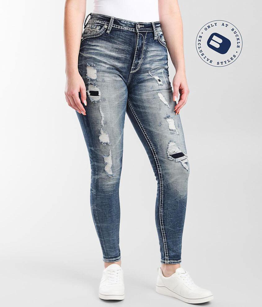 Rock Revival Ysobel Ultra High Curvy Skinny Jean front view
