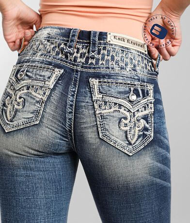 Rock Revival Rosewood Easy Straight Stretch Jean