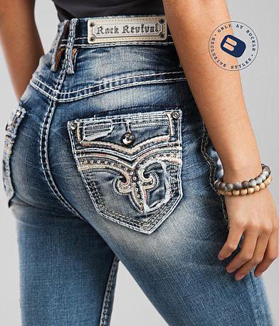 Rock Revival Ultra High Loganberry Skinny Jean