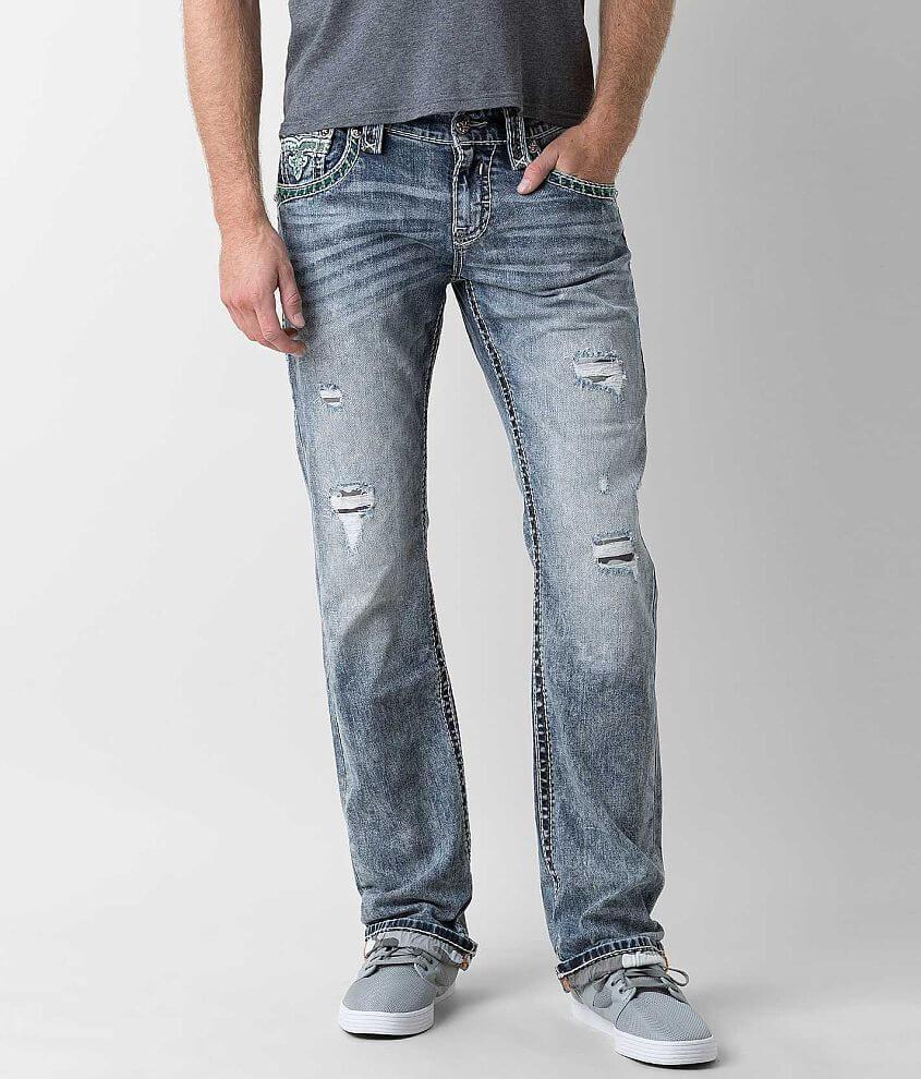 c088c543 Rock Revival Lowry Slim Straight Stretch Jean - Men's Jeans in Lowry ...