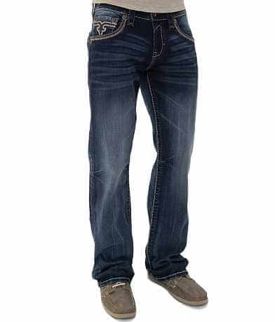 Rock Revival Dan Relaxed Straight Stretch Jean