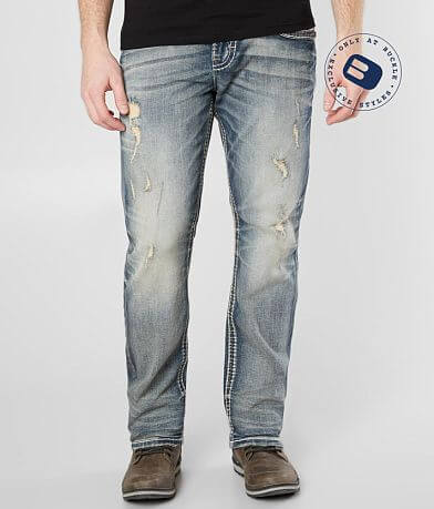 Rock Revival James Relaxed Taper Stretch Jean
