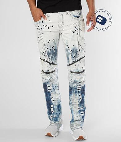 Rock Revival James Biker Straight Stretch Jean