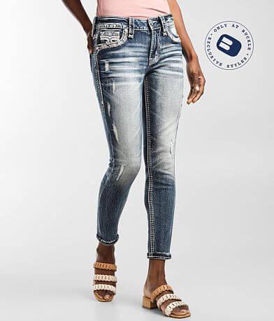 Rock Revival Flan Mid-Rise Ankle Skinny Jean