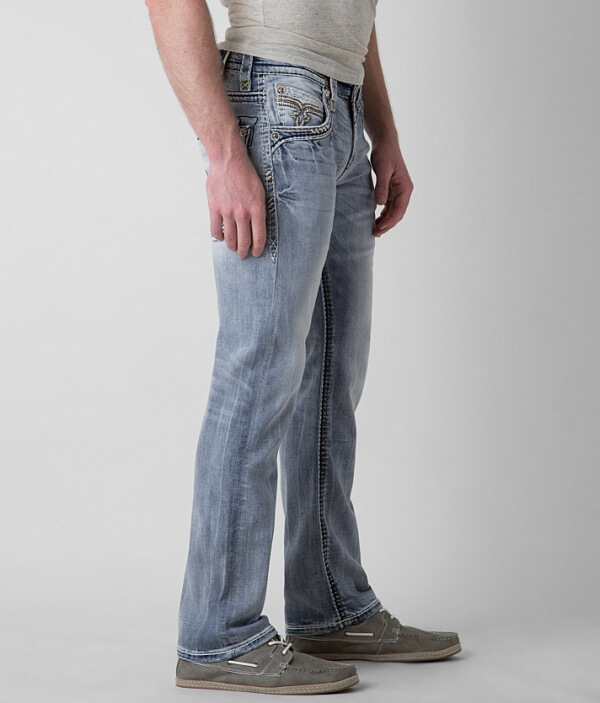 Straight Mabee Revival Stretch Slim Jean Rock xYztqnwC