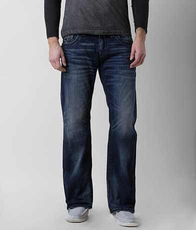 Rock Revival Pile Relaxed Straight Stretch Jean