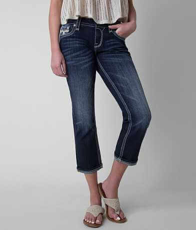 Rock Revival Nancy Easy Stretch Cropped Jean