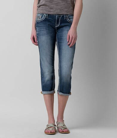 Rock Revival Betty Easy Stretch Cropped Jean