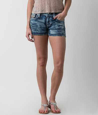 Rock Revival Betty Mid-Rise Stretch Short
