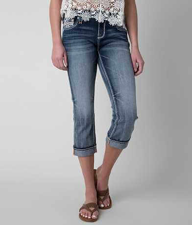 Rock Revival Delara Stretch Cropped Jean