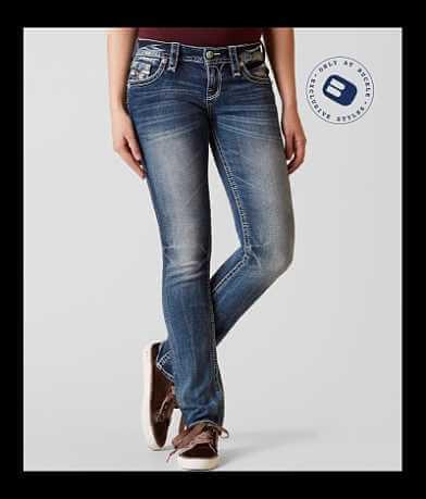 Rock Revival Arisa Straight Stretch Jean
