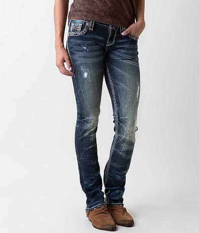 Rock Revival Elvina Straight Stretch Jean