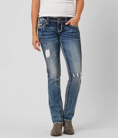Rock Revival Lanlan Straight Stretch Jean