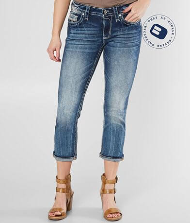 Rock Revival Celinda Easy Stretch Cropped Jean