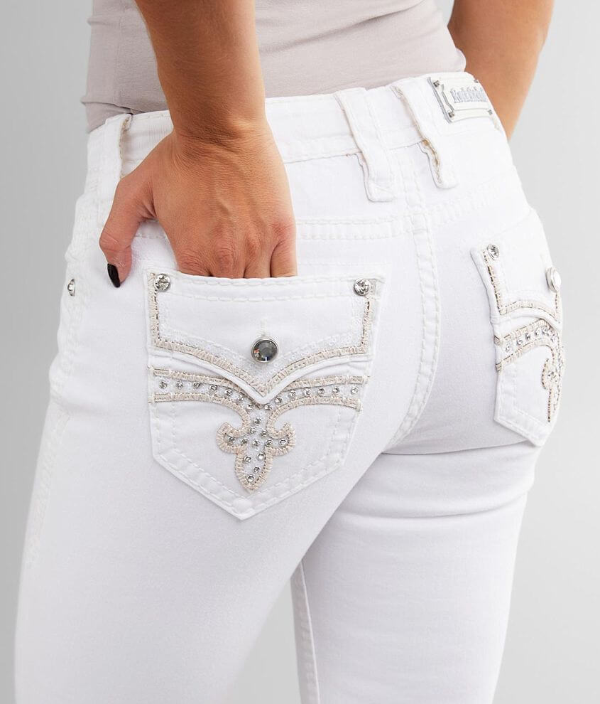 Rock Revival Celinda Stretch Cropped Jean front view