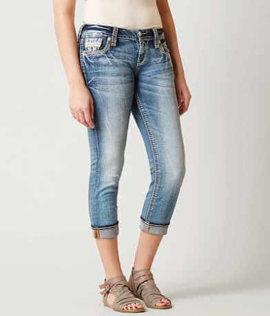 Rock Revival Vien Easy Stretch Cropped Jean