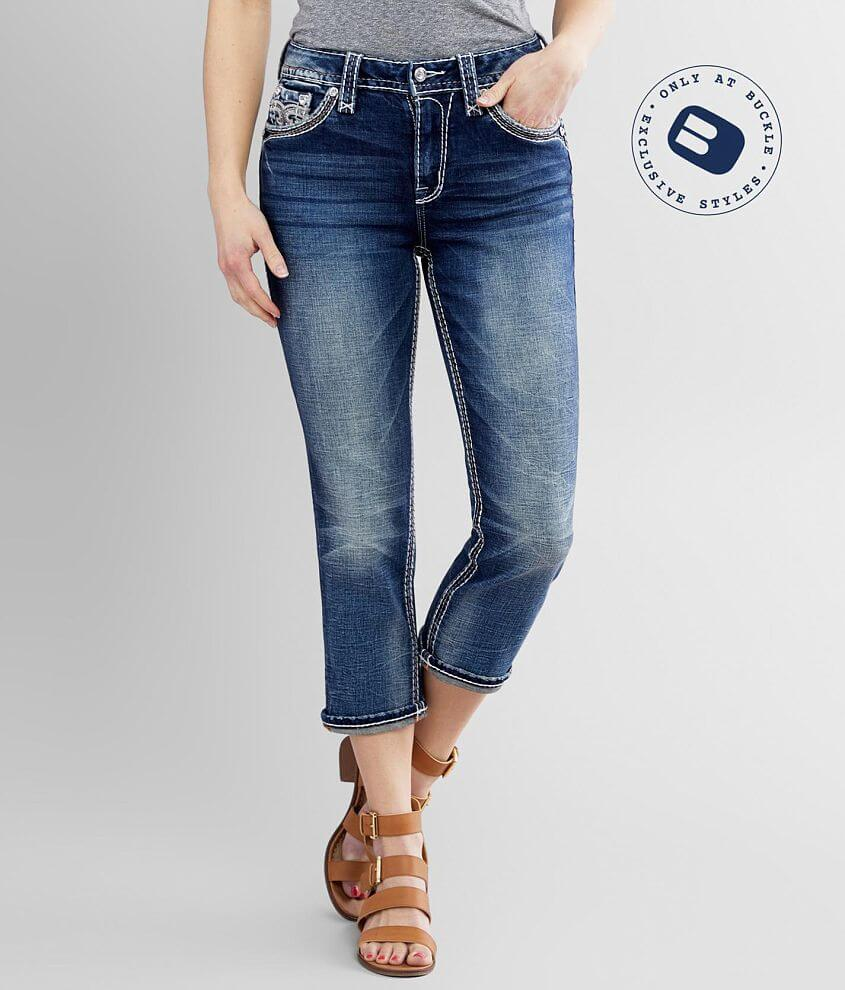 Rock Revival Vien Easy Stretch Cropped Jean front view