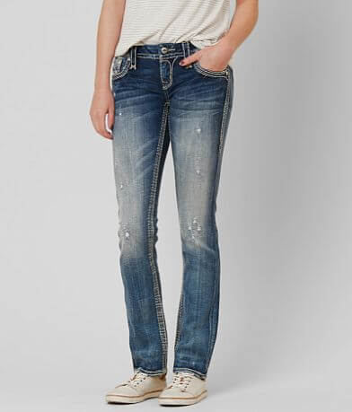 Rock Revival Carden Straight Stretch Jeans