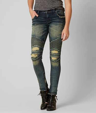Rock Revival Moto Naline Skinny Stretch Jean