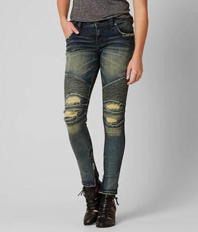 Rock Revival Moto Naline Skinny Stretch Jean