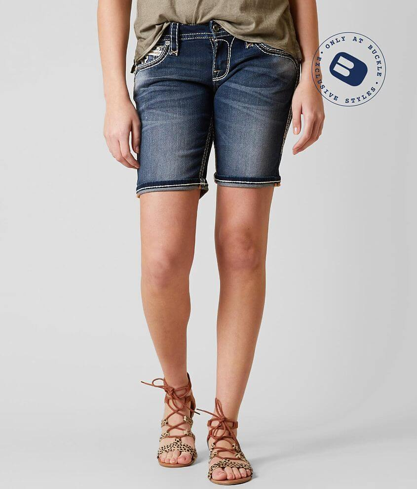 Rock Revival Codee Easy Stretch Short front view