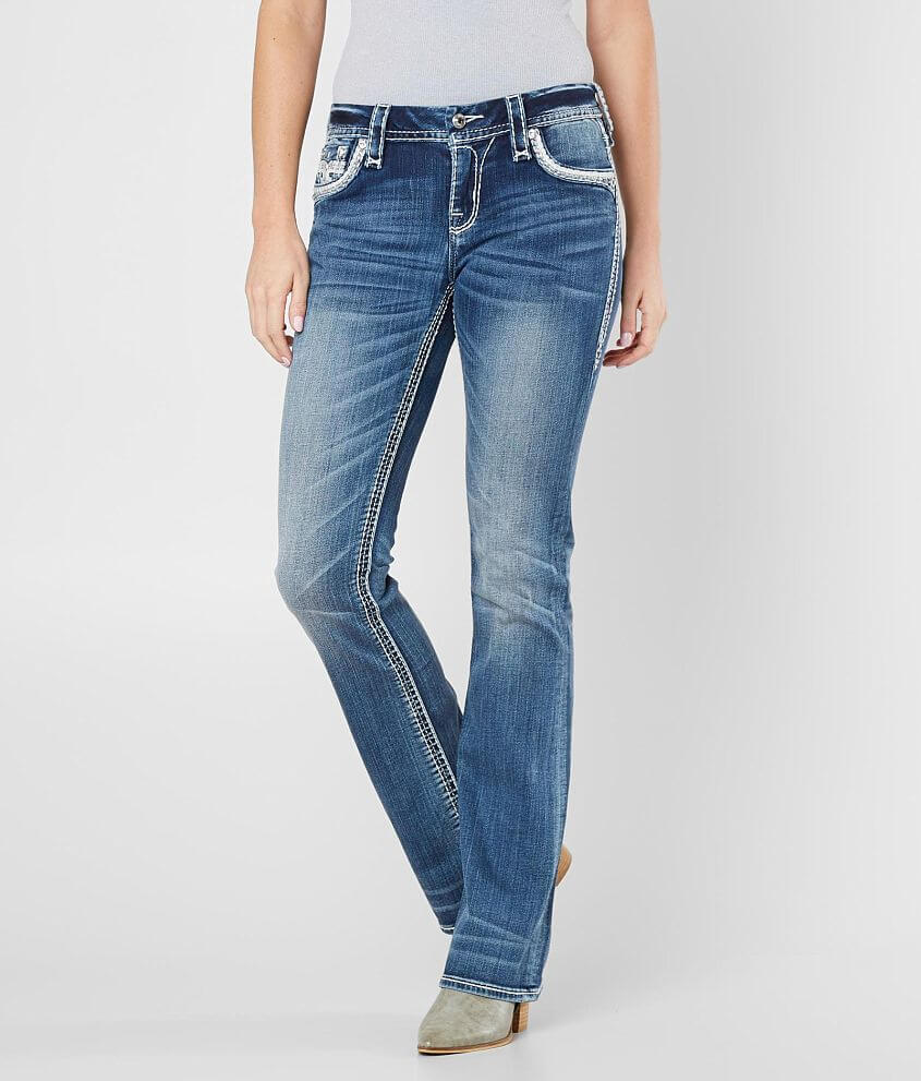 Style 9403E211/Skus 130859, 130860, 130861, 130862 Mid-rise zip fly stretch jean Curvy fit, eased through the hip and thigh 17\\\