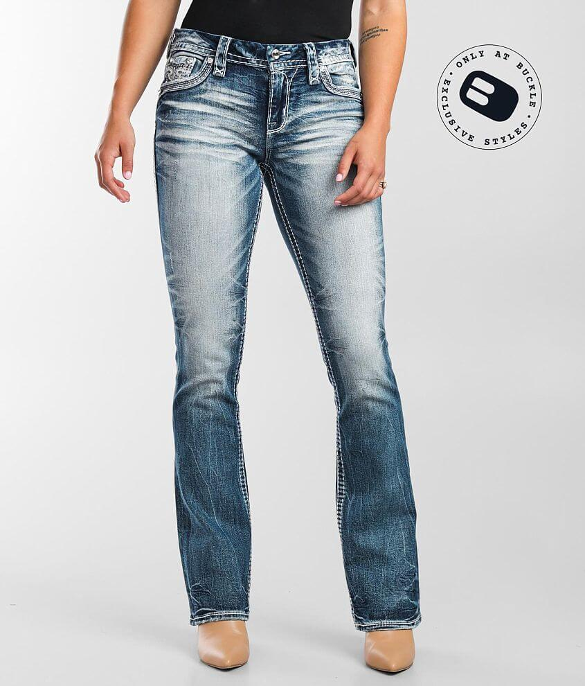 Rock Revival Easy Boot Stretch Jean front view