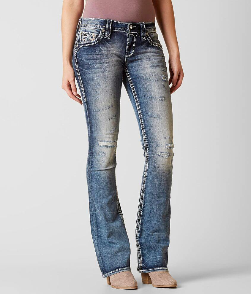 Style 9407B216/Sku 127854, 127855, 127856, 127857 Low rise zip fly stretch jean Slim through the hip and thigh 17\\\