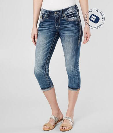 ee85e37b2f98 Rock Revival Yadra Stretch Cropped Jean