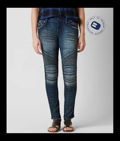 Rock Revival Nelrose Moto Easy Skinny Stretch Jean