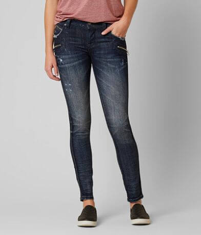 Rock Revival Moto Cladelle Skinny Stretch Jean