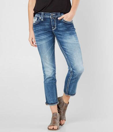 Rock Revival Lam Easy Stretch Cropped Jean